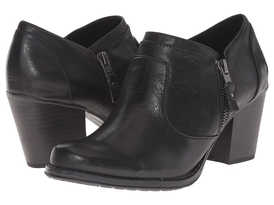 Naturalizer - Trust (Black Smooth) Women's Zip Boots