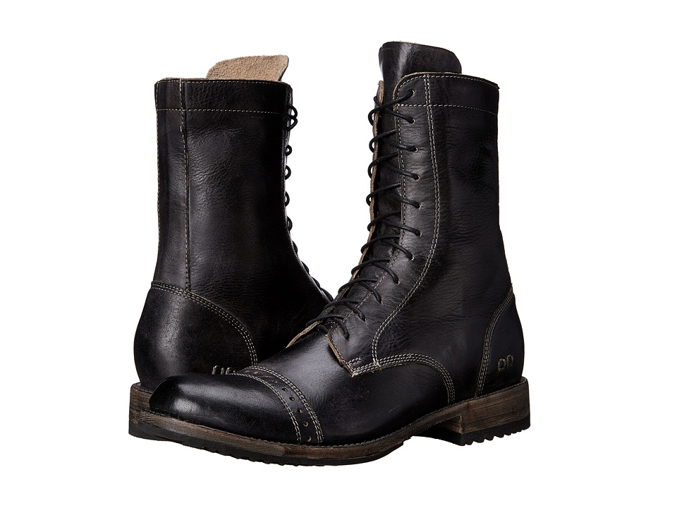 Bed Stu - Hendrix (Black Rustic) Men's Zip Boots