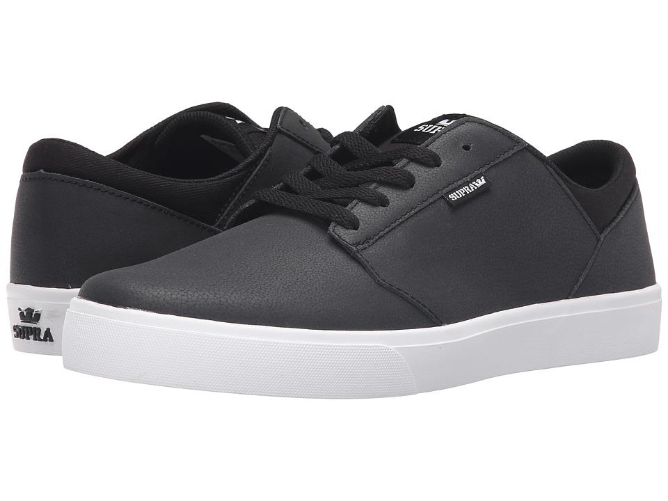 Supra - Yorek Low (Black/White) Men's Skate Shoes