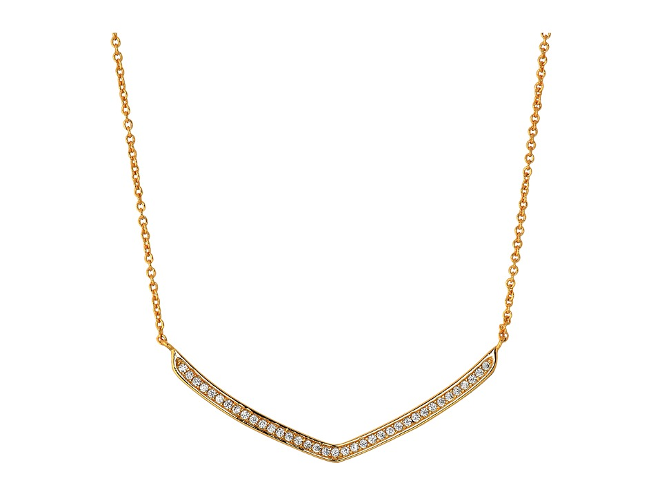 gorjana - Cress Shimmer Necklace (Gold) Necklace