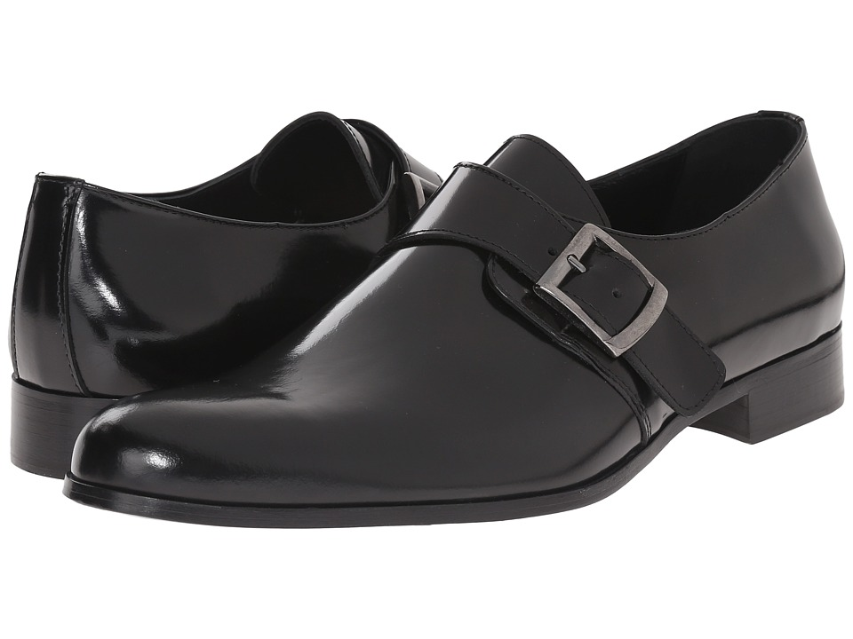 Kenneth Cole New York - Pur-Chase (Black) Men's Slip-on Dress Shoes