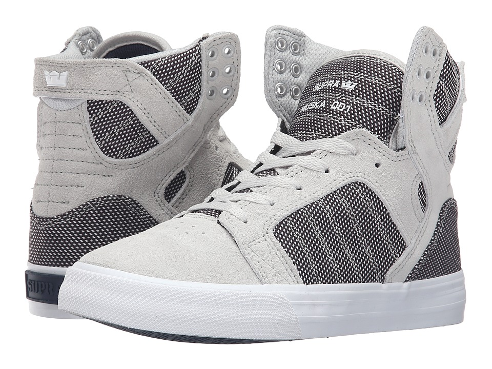 Supra Skytop (Grey Violet Two-Tone/White) Women
