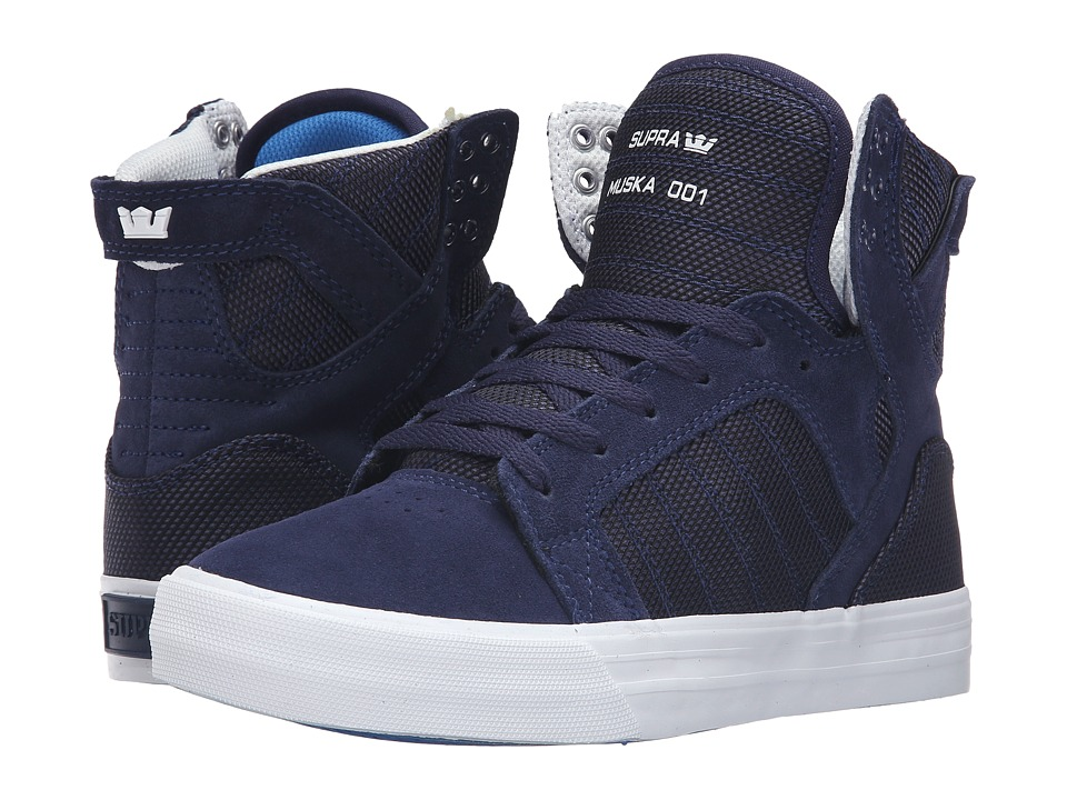 Supra Skytop (Navy Two-Tone/White) Women