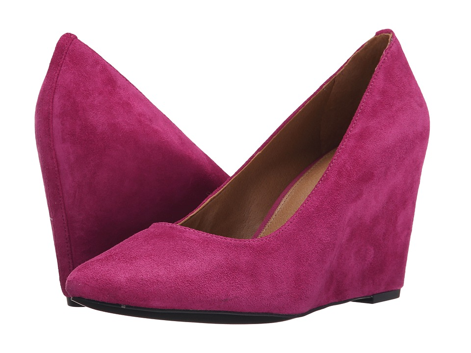 Franco Sarto - Woodstock (Fuxia) Women's Wedge Shoes