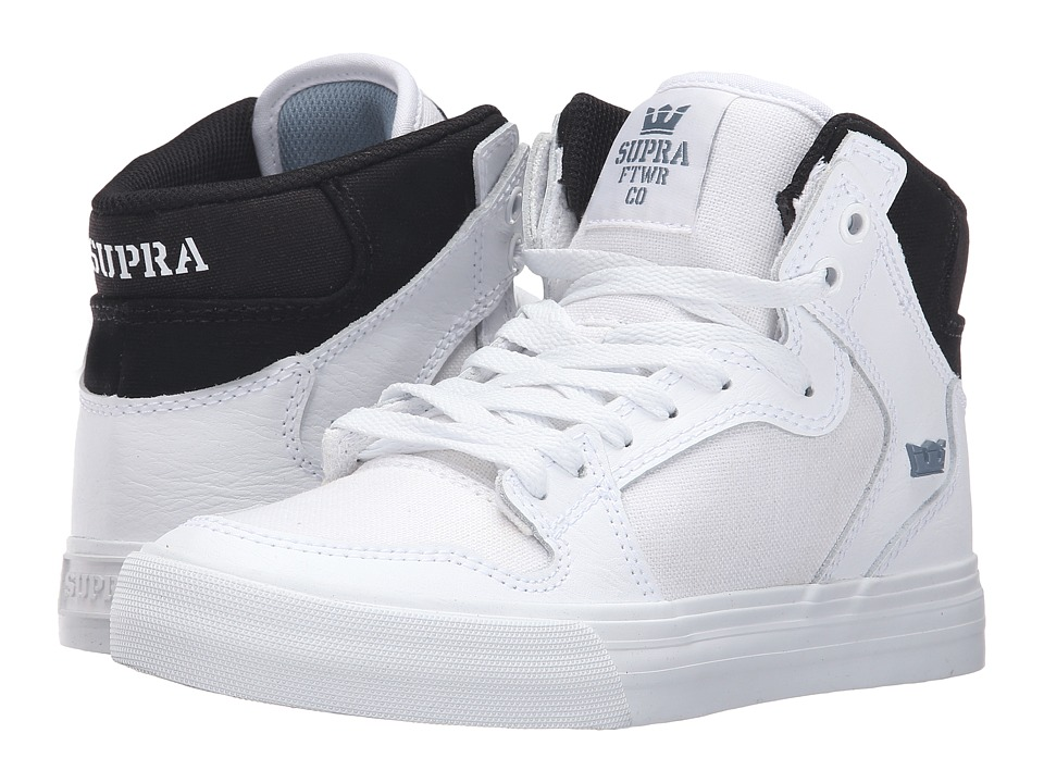 Supra - Vaider (White/Black/White) Women's Skate Shoes