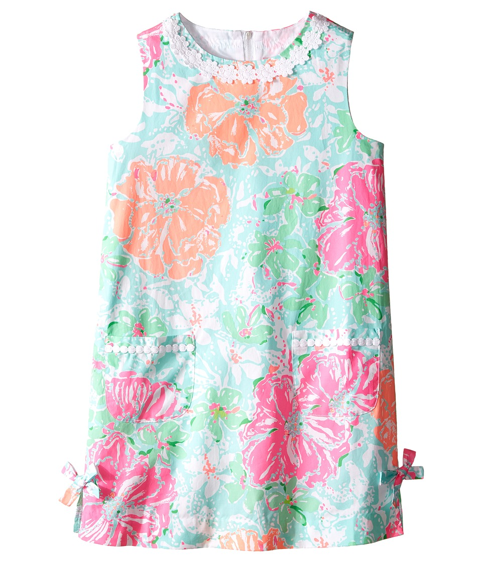 Lilly Pulitzer Kids - Little Lilly Classic Shift (Toddler/Little Kids/Big Kids) (Poolside Blue) Girl's Dress