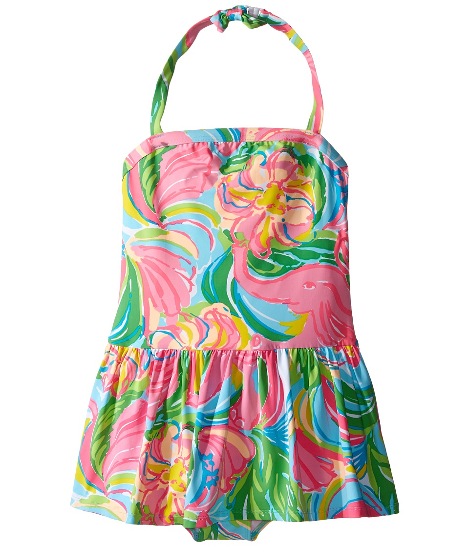 Lilly Pulitzer Kids - Carla Swimsuit (Toddler/Little Kids/Big Kids) (Multi So A Peeling) Girl's Swimsuits One Piece