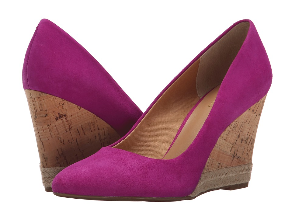 Franco Sarto - Calix (Fuchsia) Women's Wedge Shoes