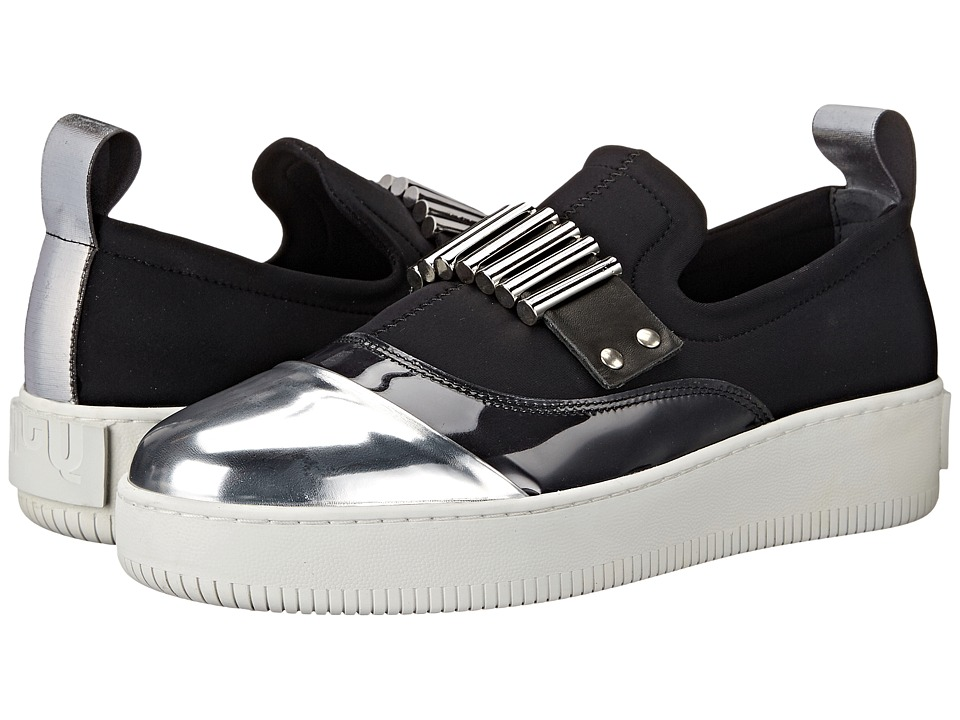 McQ - Metil Bullet Sneaker (Black) Women's Shoes
