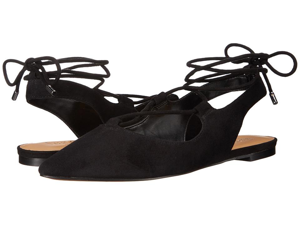 Franco Sarto - Snap (Black) Women's Flat Shoes