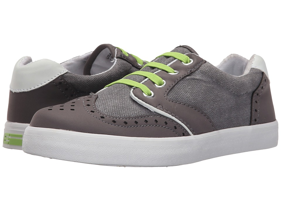 Elements by Nina Kids - Jackson (Toddler/Little Kid/Big Kid) (Grey) Boy's Shoes