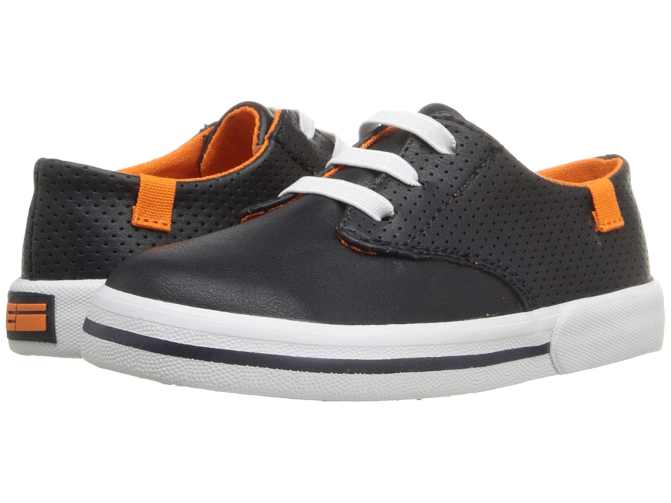 Elements by Nina Kids - Liam (Toddler/Little Kid/Big Kid) (Navy) Boy's Shoes