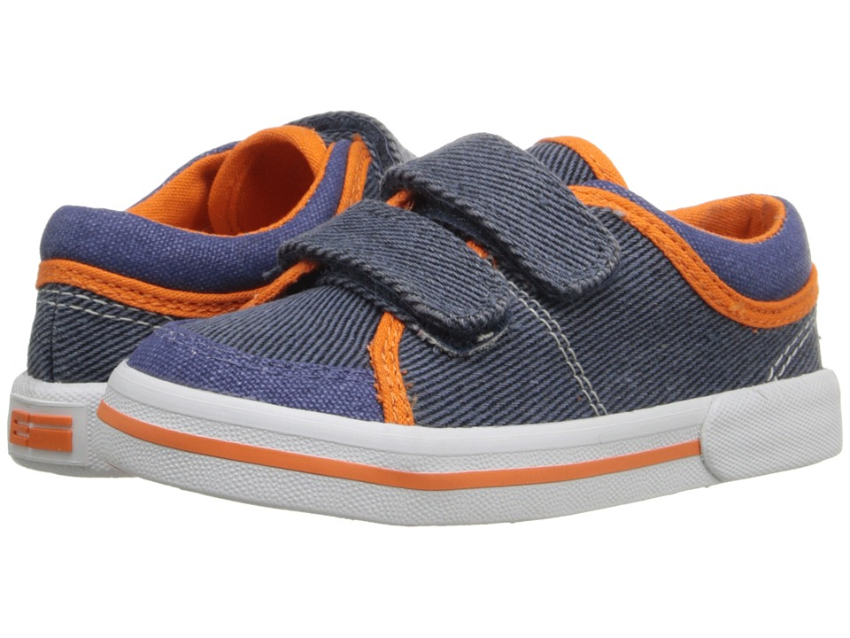 Elements by Nina Kids - Aiden (Toddler/Little Kid) (Navy) Boy's Shoes