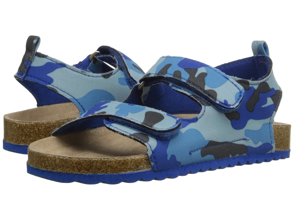 Elements by Nina Kids - Jayden (Toddler/Little Kid) (Blue Camo) Boys Shoes