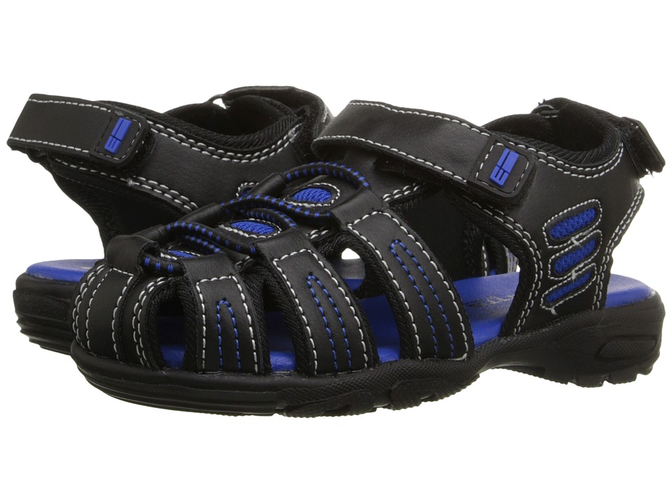 Elements by Nina Kids - Gavin (Toddler/Little Kid/Big Kid) (Black) Boys Shoes