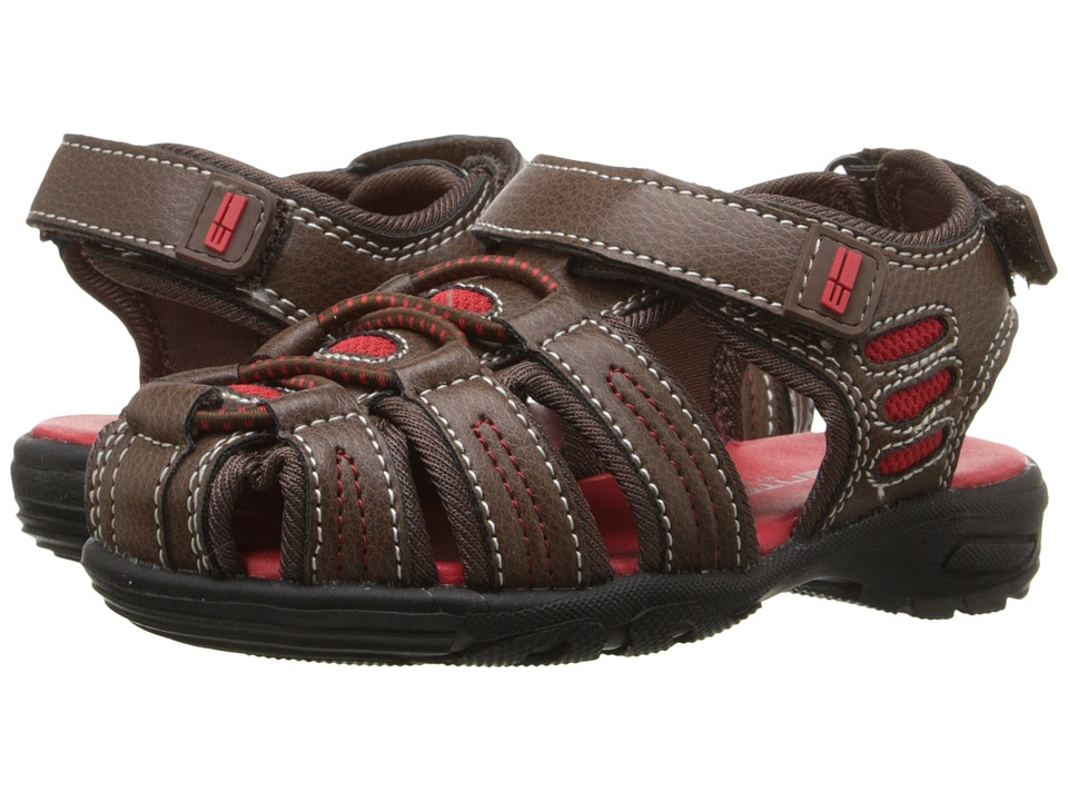 Elements by Nina Kids - Gavin (Toddler/Little Kid/Big Kid) (Brown) Boys Shoes