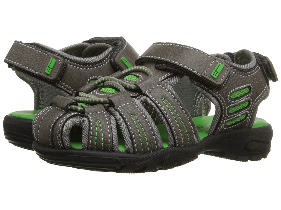 Elements by Nina Kids - Gavin (Toddler/Little Kid/Big Kid) (Grey) Boys Shoes