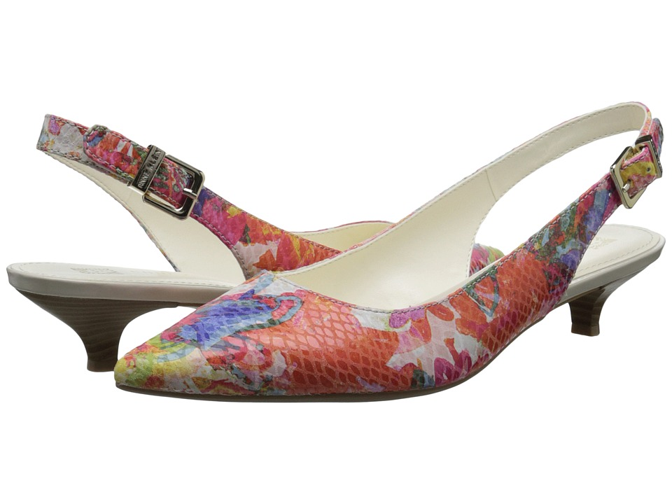 Anne Klein - Expert (Candy Floral Reptile) Women's 1-2 inch heel Shoes