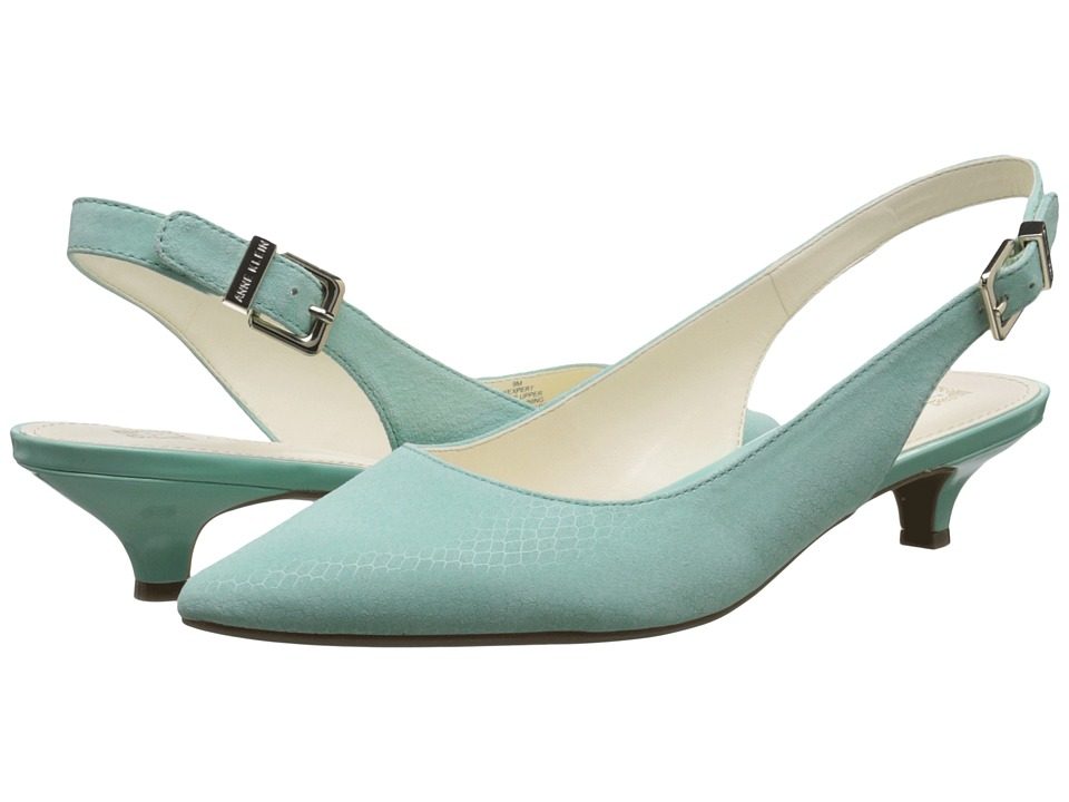 Anne Klein - Expert (Turquoise Snake Reptile) Women's 1-2 inch heel Shoes