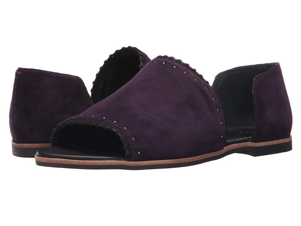 Franco Sarto - Azmond (Dark Purple) Women's Sandals