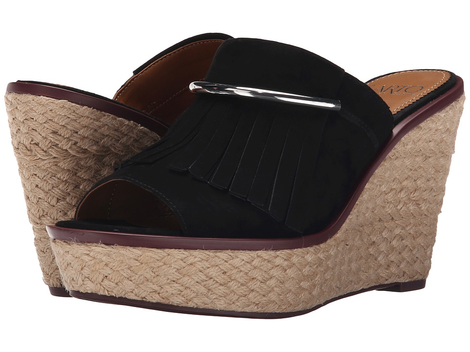 Franco Sarto - Candace (Black) Women's Wedge Shoes