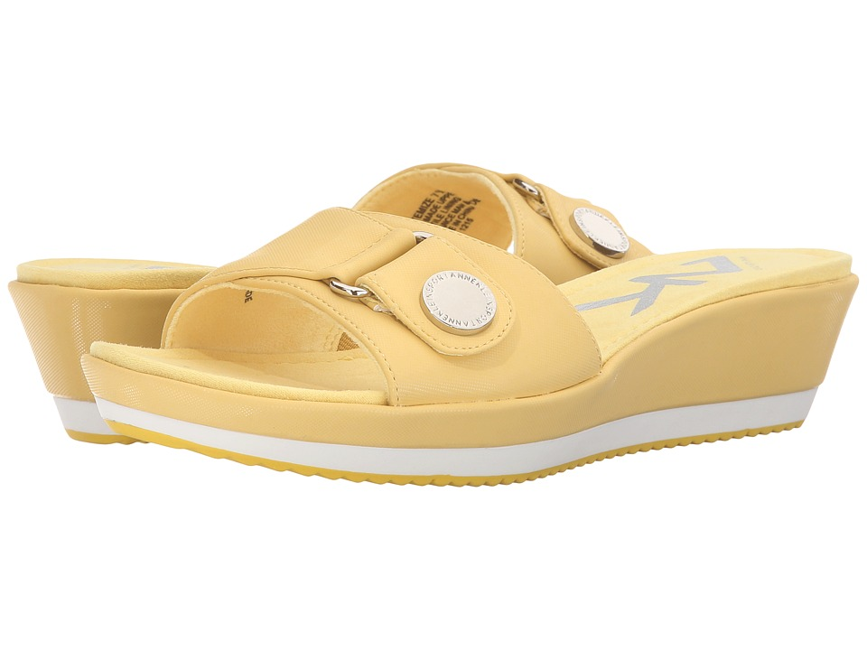 Anne Klein Itemize (Yellow Synthetic) Women