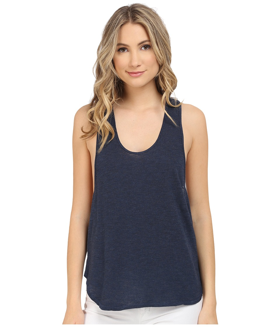 Lanston - Racerback Tank Top (Navy) Women's Sleeveless