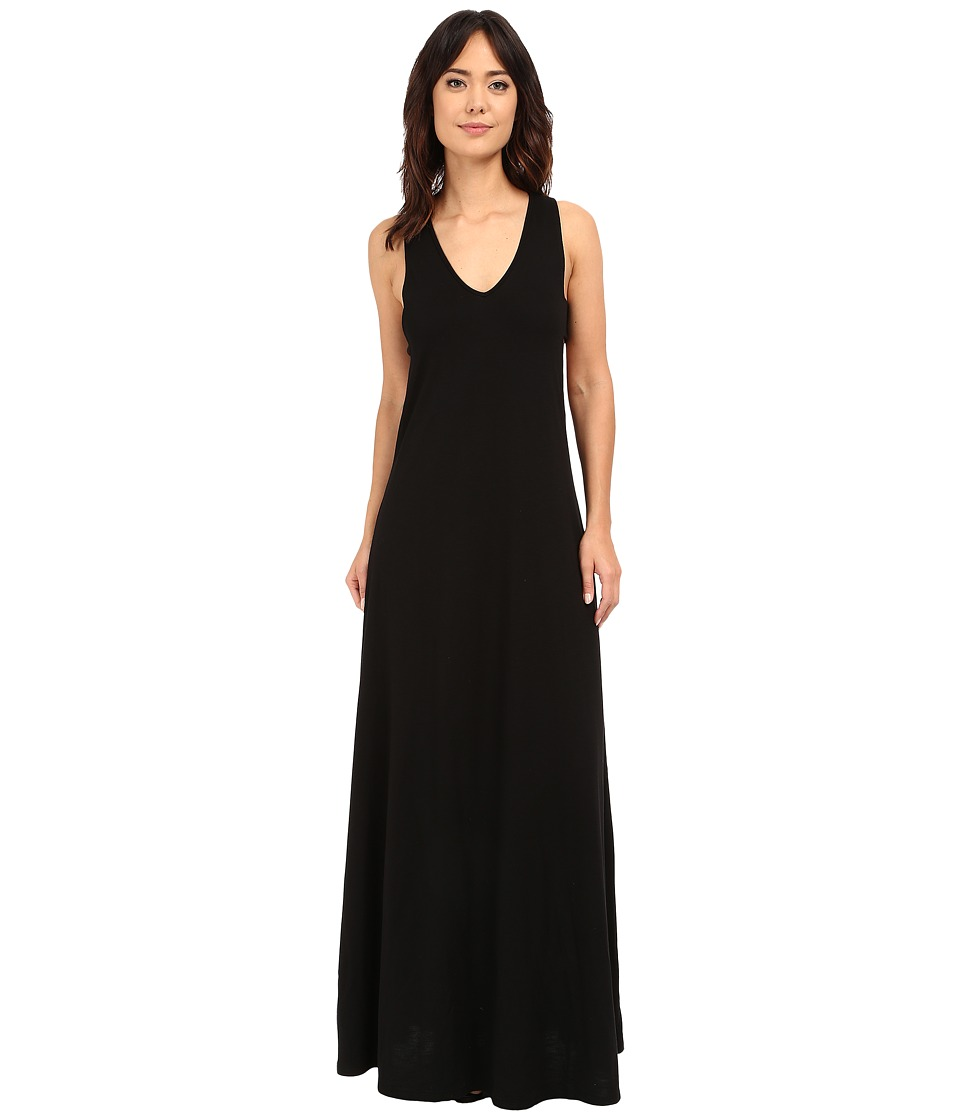 Lanston - Cut Out Maxi Dress (Black) Women's Dress