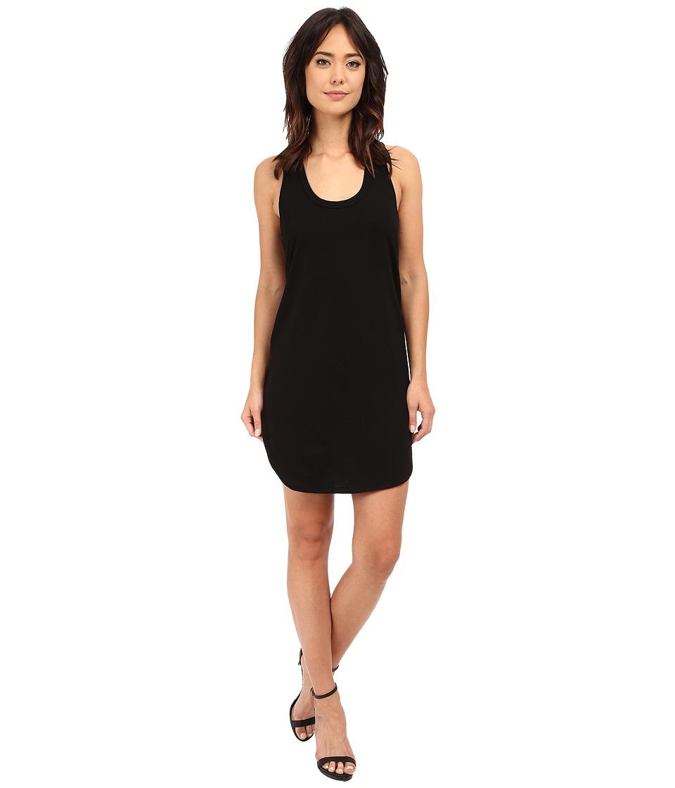 Lanston - Scoop Racerback Mini Dress (Black) Women's Dress