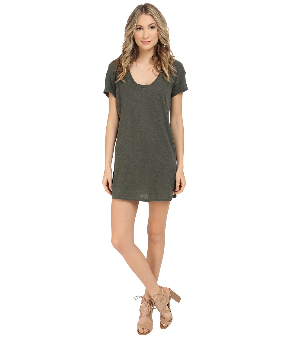 Lanston - T-Shirt Dress (Military) Women's Dress