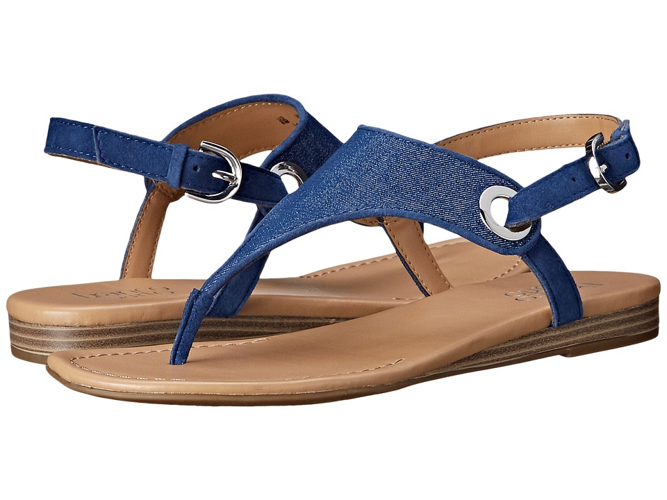 Franco Sarto - Grip 2 (Jeans) Women's Sandals