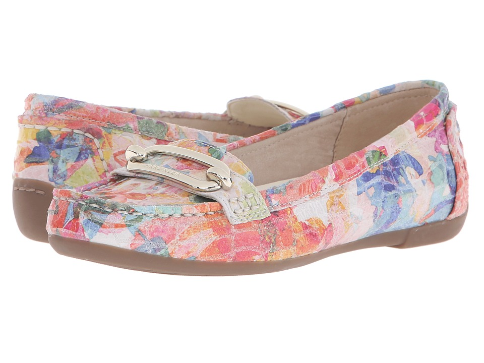 Anne Klein - Noris (Candy Floral Reptile) Women's Flat Shoes
