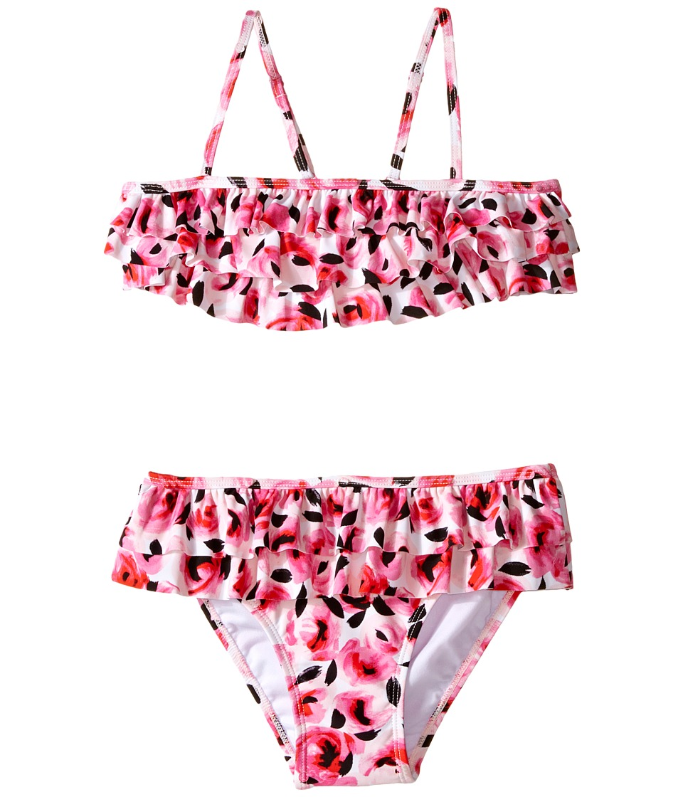 Kate Spade New York Kids - Rose Ruffle Two-Piece (Big Kids) (Rosebud) Girl's Active Sets