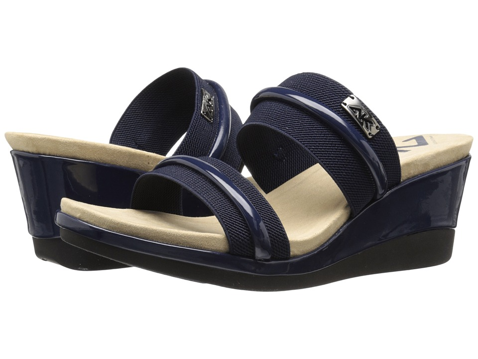 Anne Klein Portier (Navy Fabric) Women