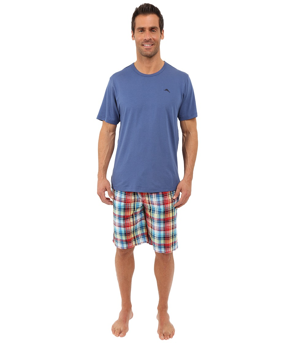Tommy Bahama - Jam Set (Beach Plaid) Men's Pajama Sets
