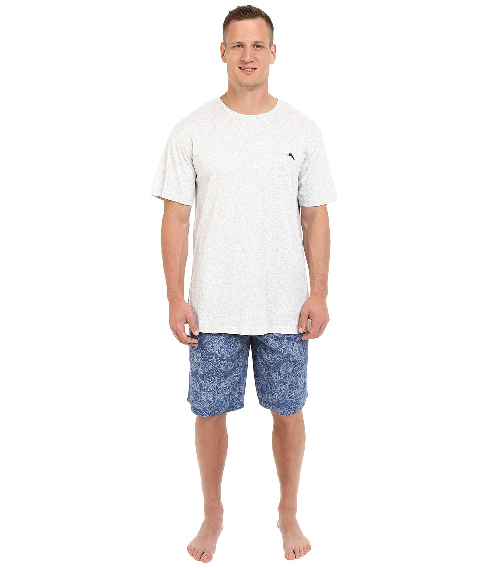 Tommy Bahama - Big Tall Jam Set (Tonal Palm) Men's Pajama Sets