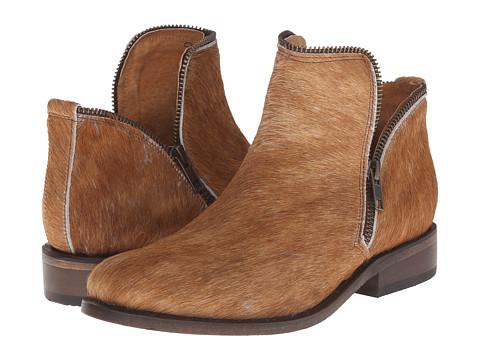 Matisse - Kerr (White/Brown) Women's Zip Boots