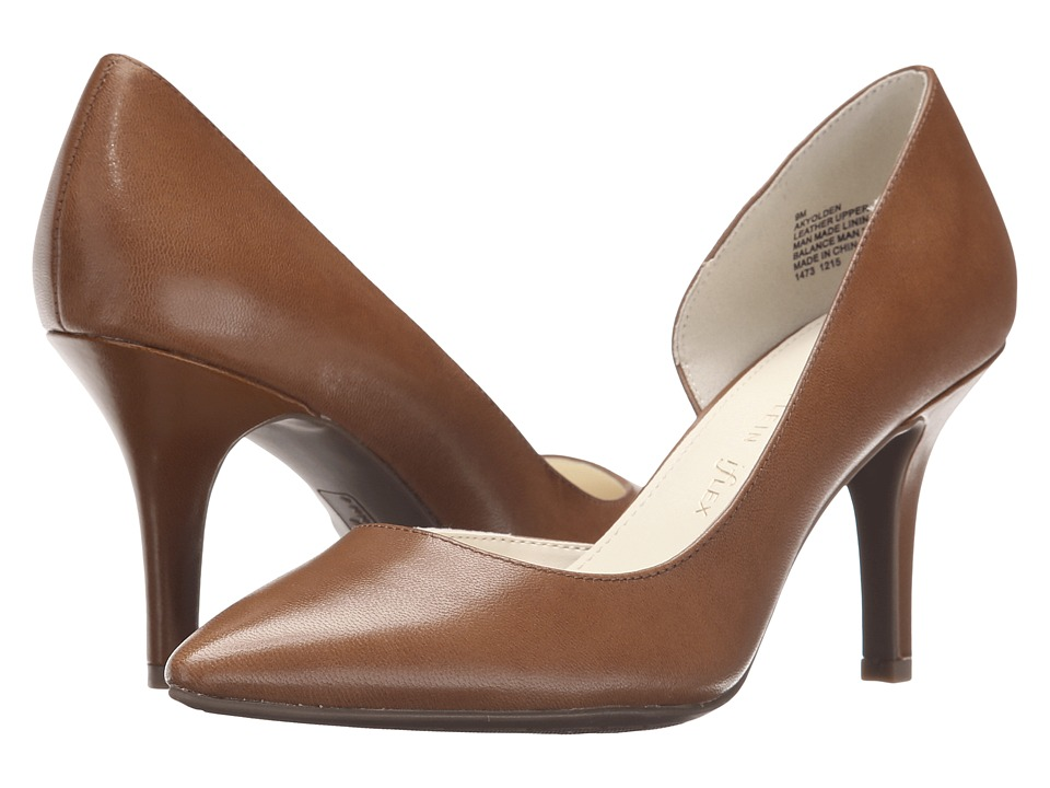 Anne Klein - Yolden (Cognac Leather) High Heels