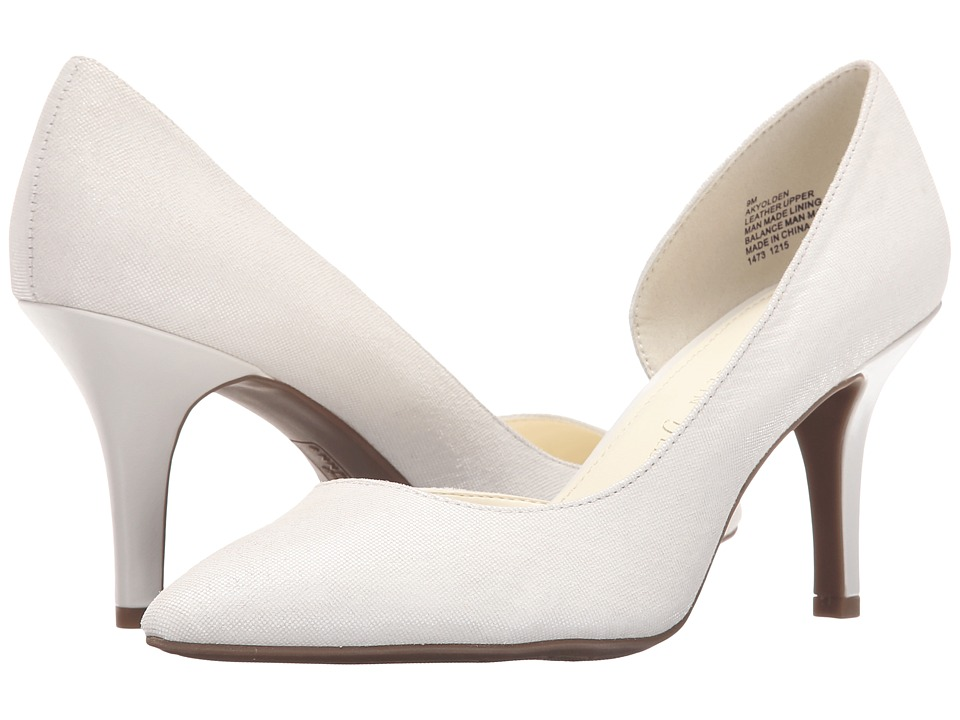 Anne Klein - Yolden (White Leather) High Heels