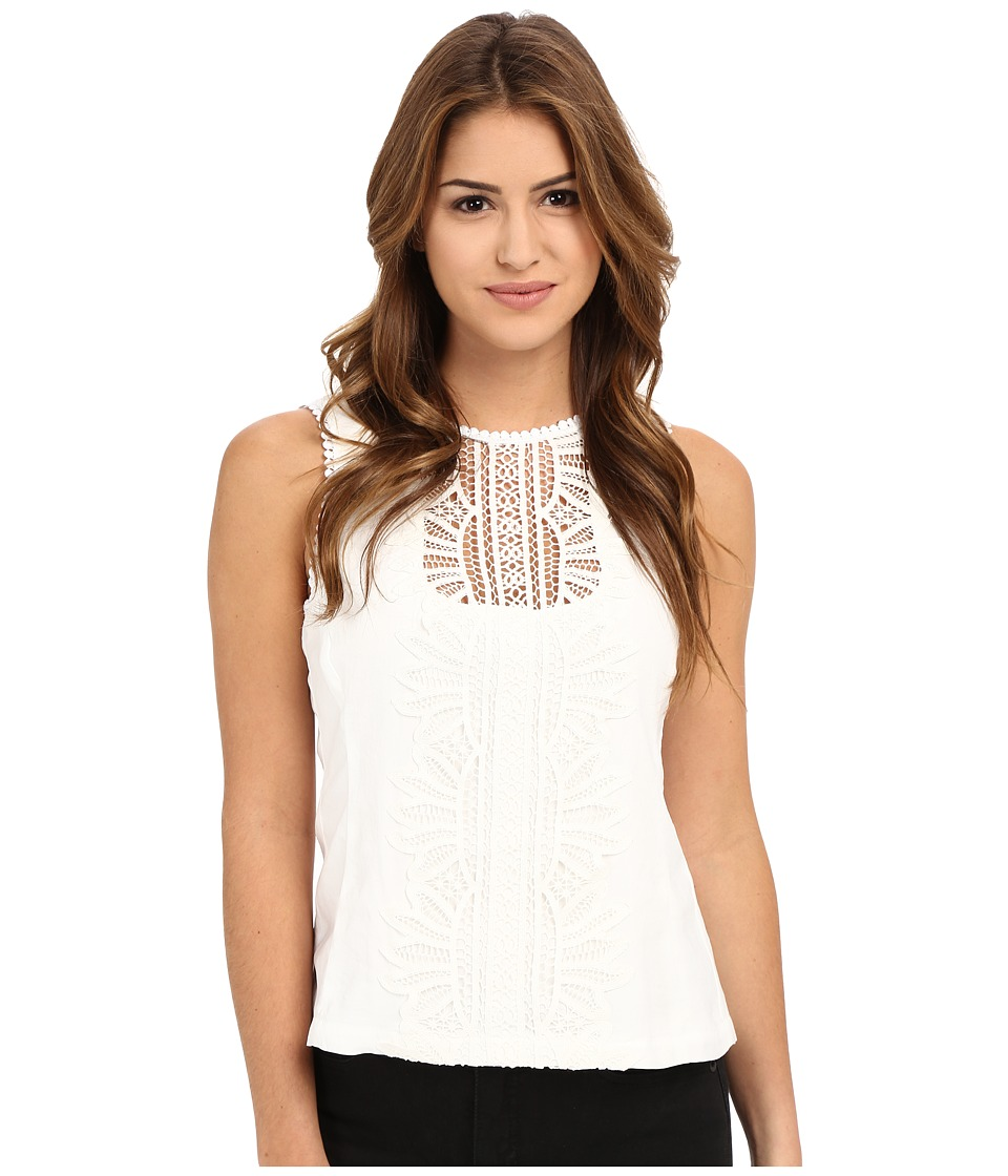 Nanette Lepore - Midday Sun Shell (White) Women's Sleeveless