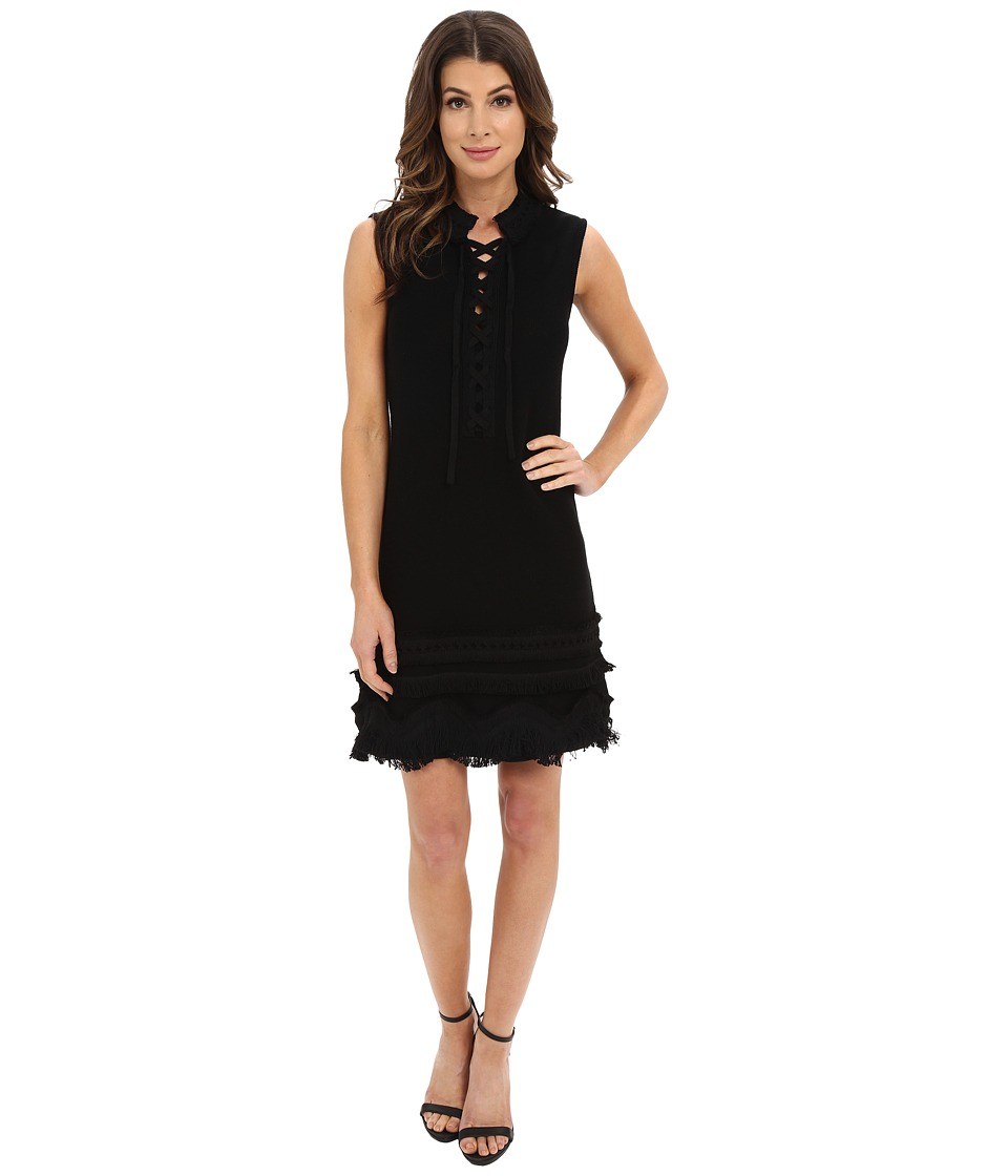 Nanette Lepore Sunset Dress (Black) Women