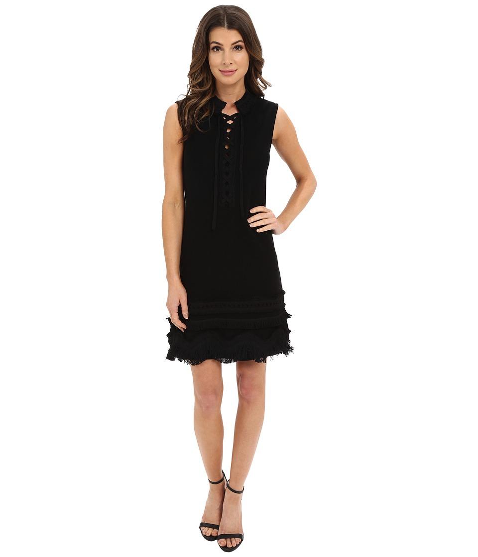 Nanette Lepore - Sunset Dress (Black) Women's Dress