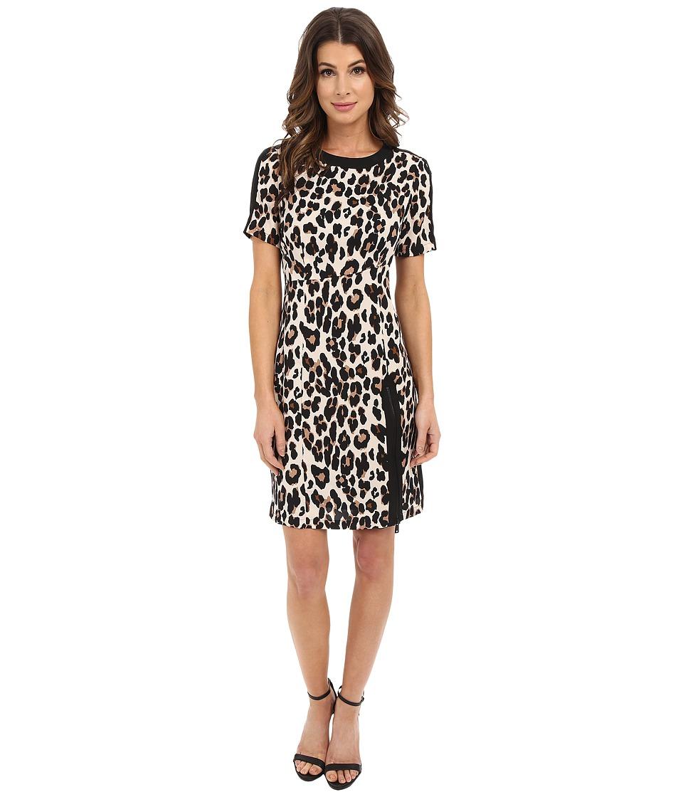 Nanette Lepore - Wildlife Sheath (Leopard) Women's Clothing