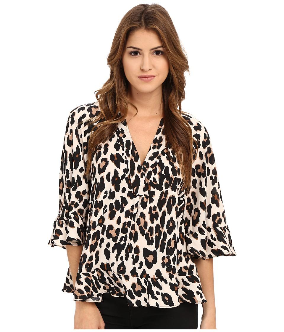 Nanette Lepore - Leopard Top (Leopard) Women's Blouse