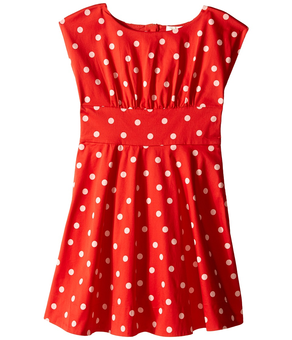 Kate Spade New York Kids - Fiorella Dress (Big Kids) (fairytale Red Polka Dot) Girl's Dress