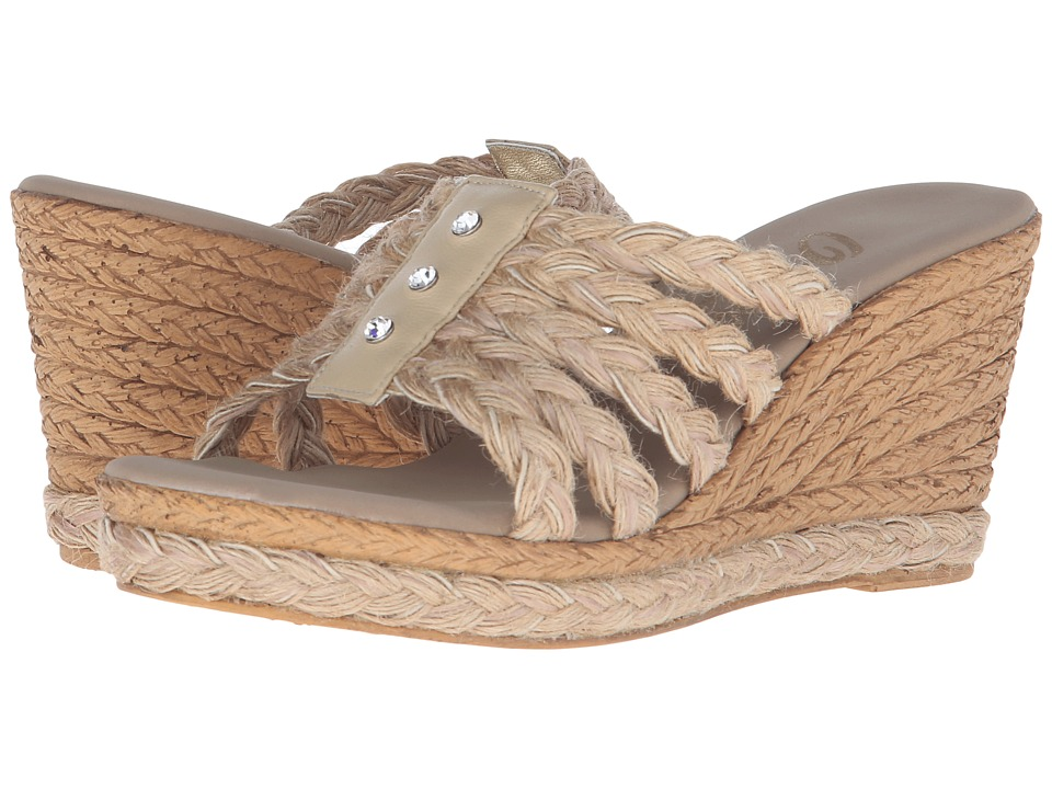 Onex - Fabulous (Natural/White/Clear Stones) Women's Sandals