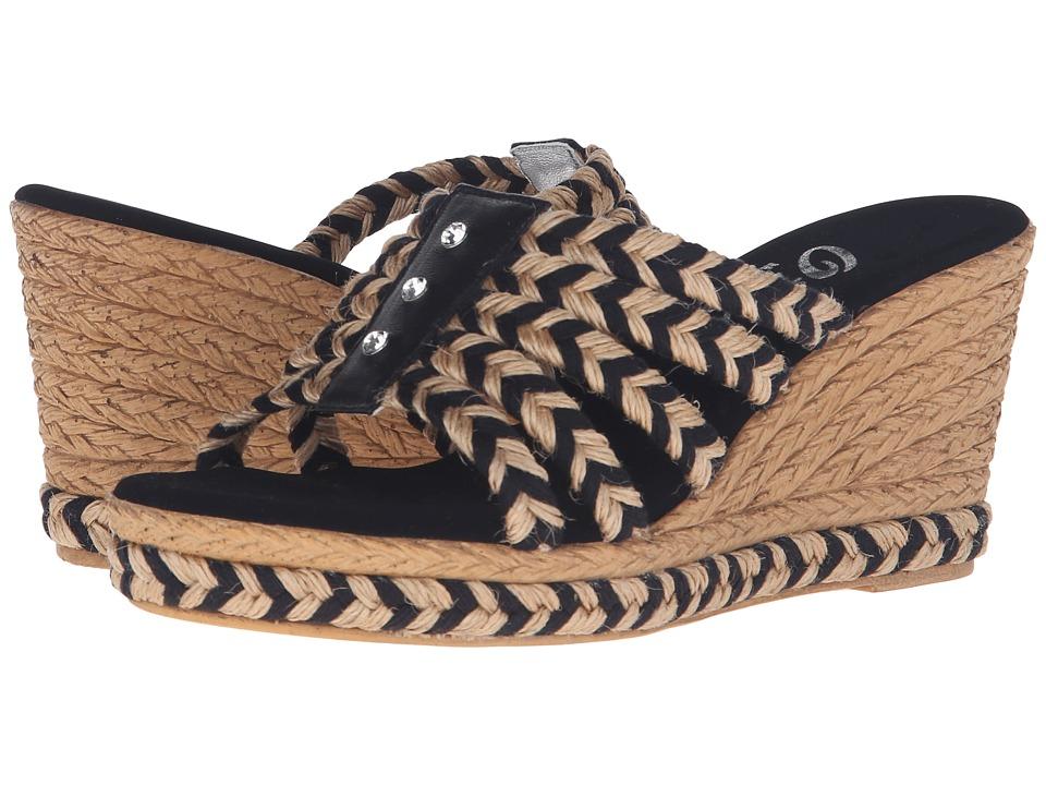 Onex - Fabulous (Natural/Black/Clear Stones) Women's Sandals