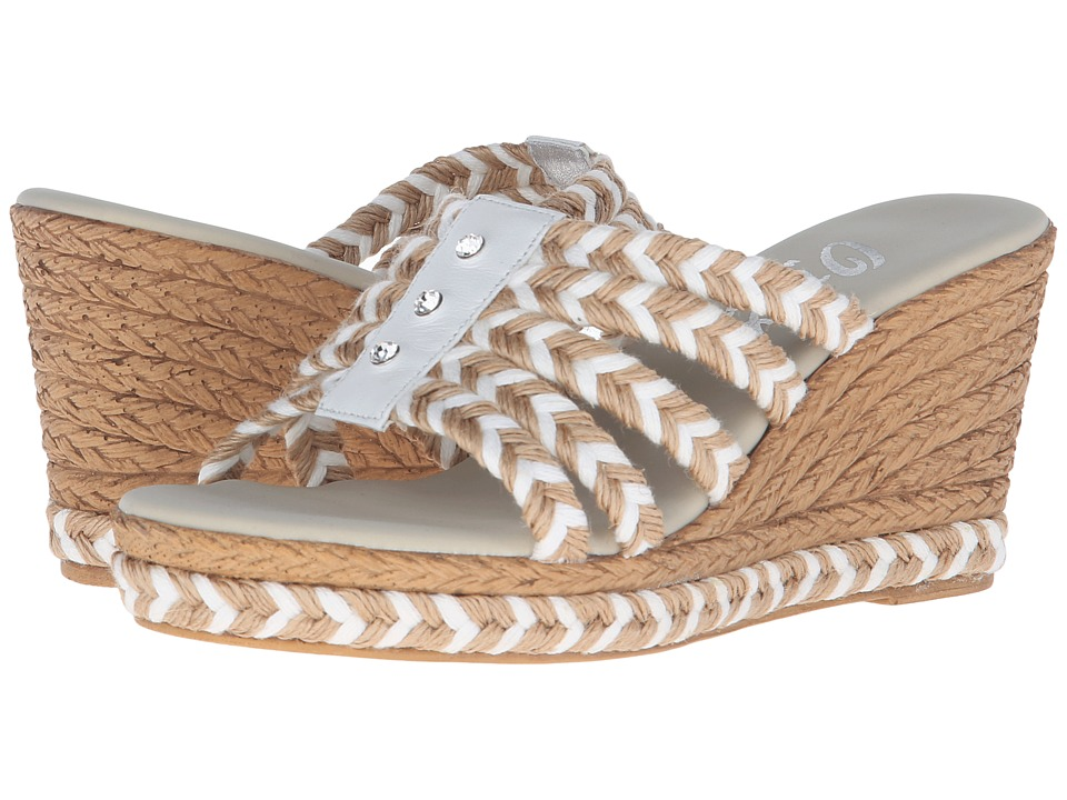 Onex - Fabulous (All Natural/Clear Stones) Women's Sandals