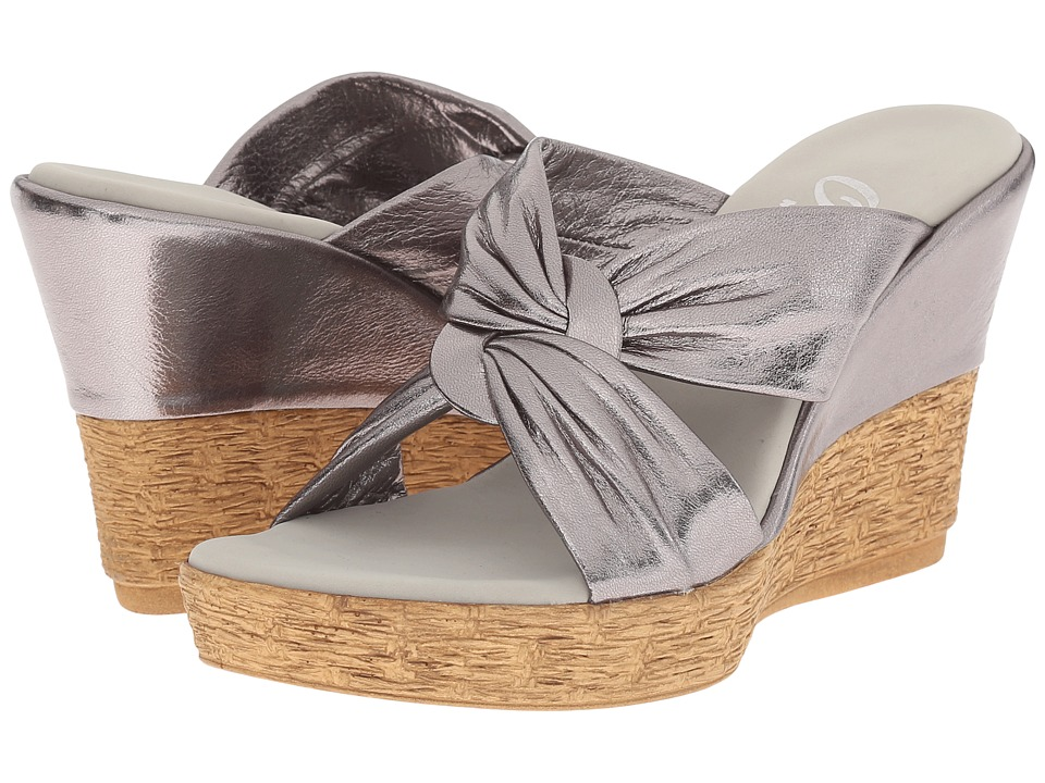 Onex - Pretti (Pewter) Women's Sandals