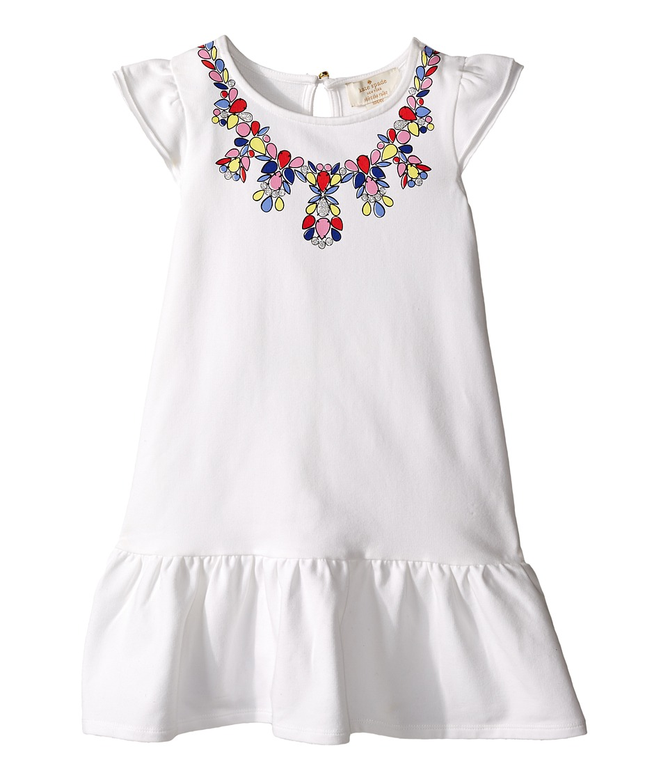 Kate Spade New York Kids - Necklace Dress (Toddler/Little Kids) (Cream) Girl's Dress